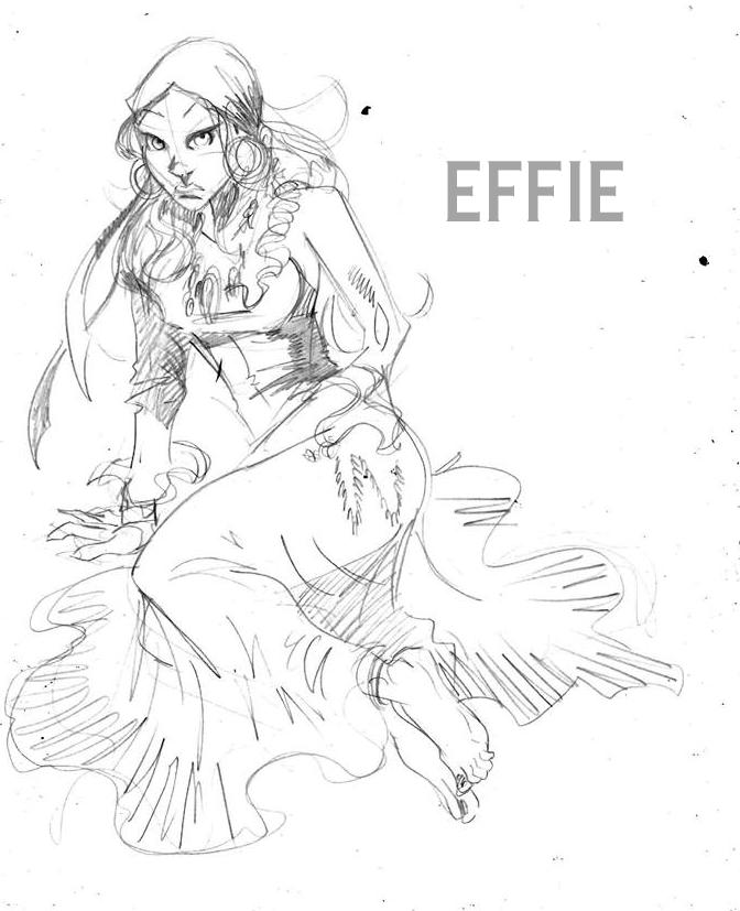 Concept art for Effie