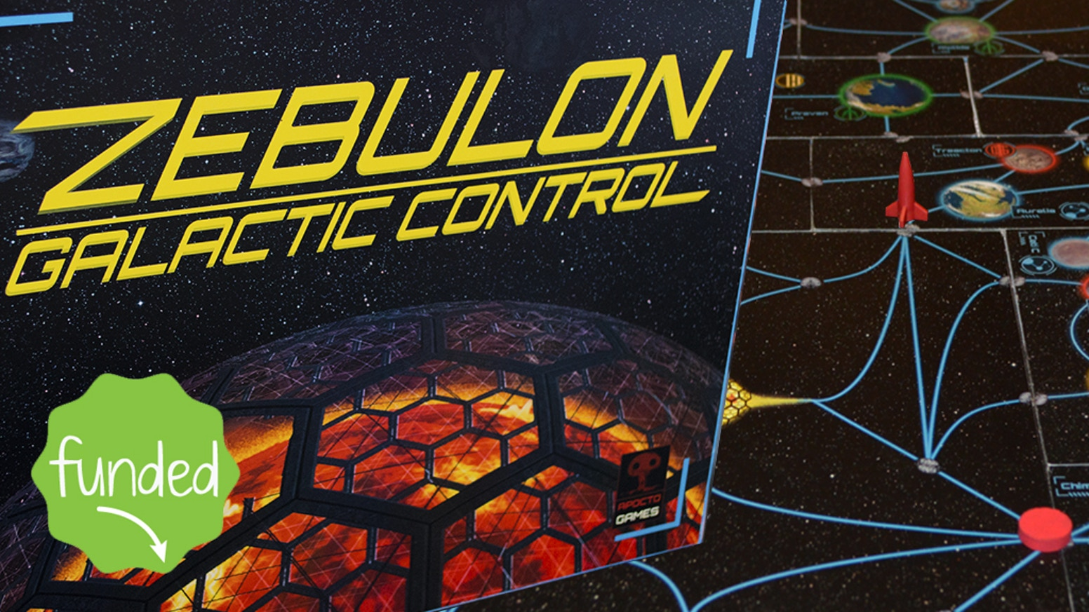 Zebulon is a space themed, modular strategic board game. Complete missions, lay traps and confront other players in battle.