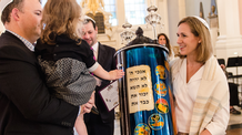 First Torah Scroll Written by a Female Scribe in Manhattan