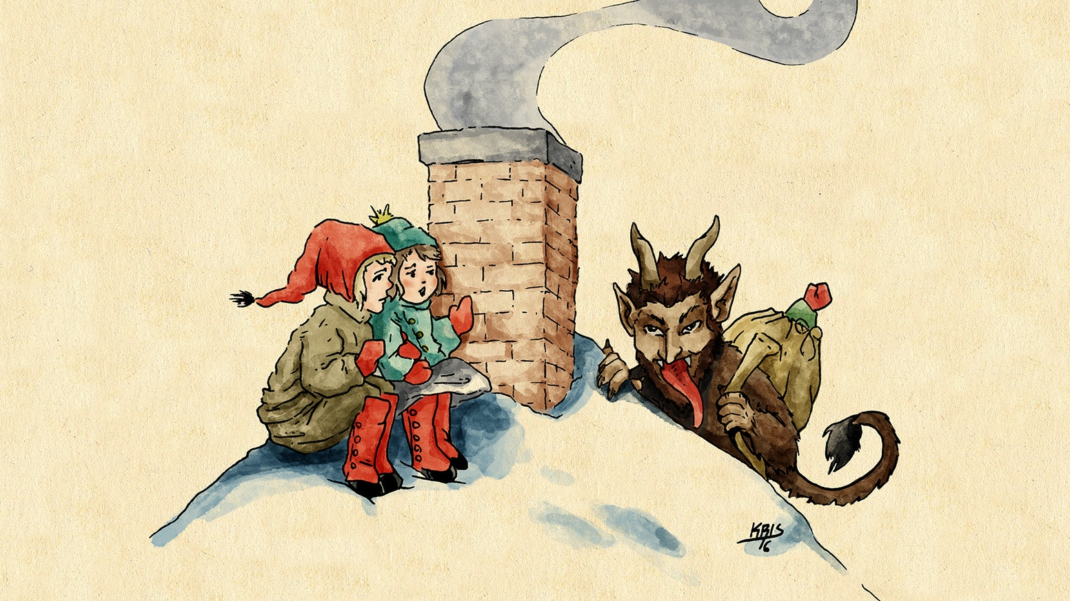 Krampus & Cthulhu\'s Christmas Gift Collection by Kristopher Neal ...