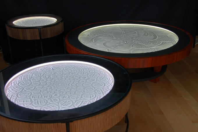 Three sizes of tables now available, prices are for Kickstarter campaign only