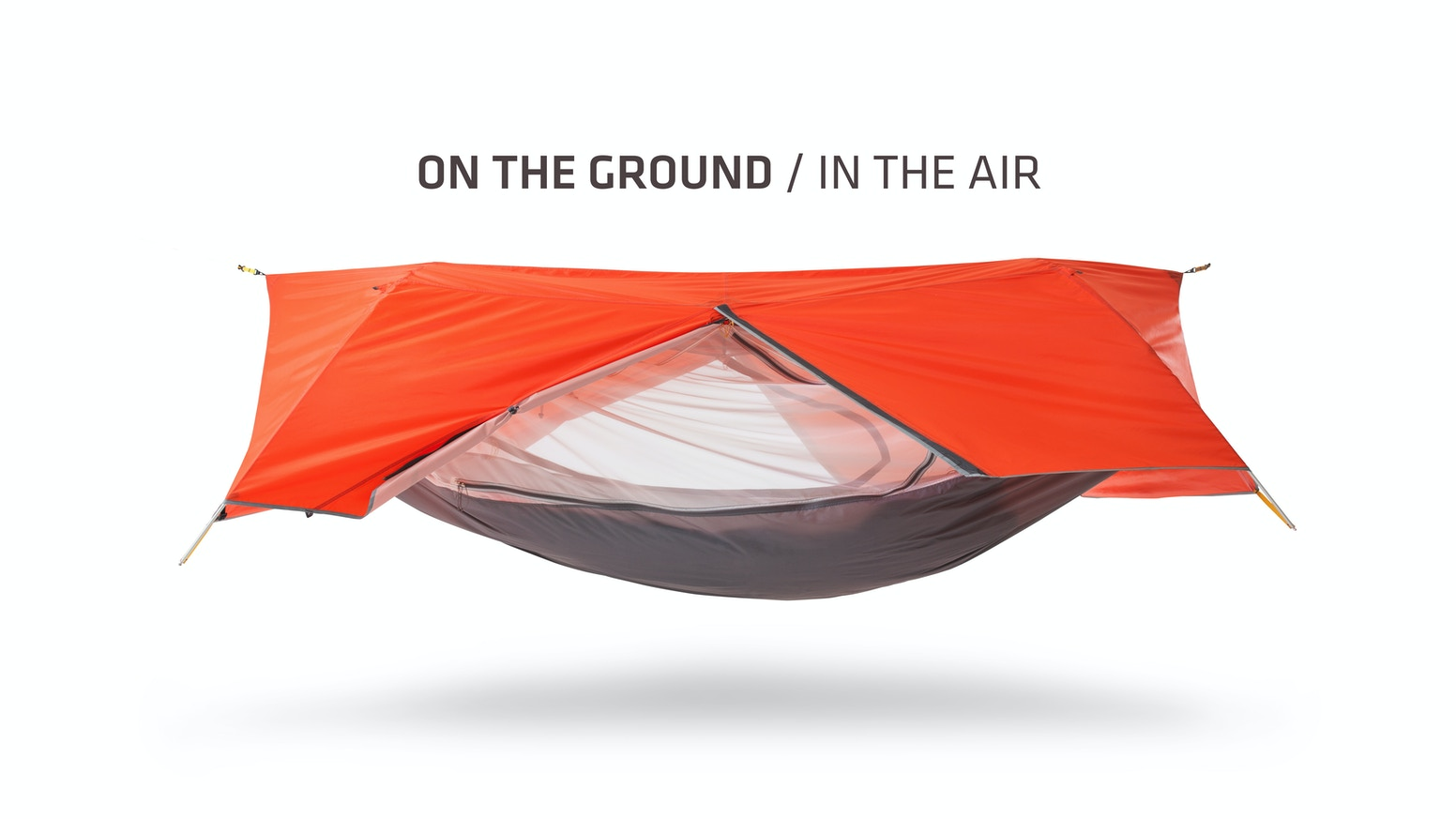 Clean design meets complete versatility. The Sunda is a game-changing tent hammock, designed for any occasion, any terrain, any time.
