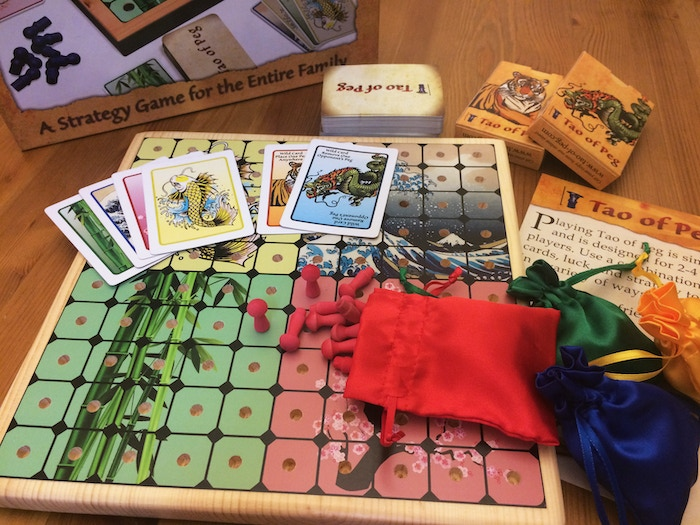 Strategic game for 2-4 players. Delicate balance of strategy and luck. Challenge your friends! Fun for the entire family!