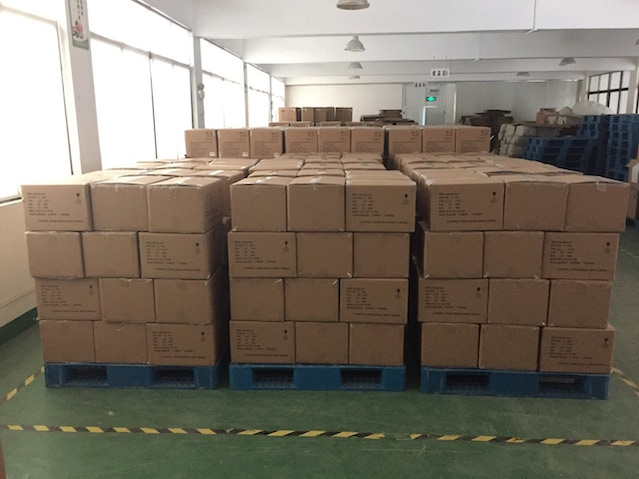 Pallets of Handground ready to ship!