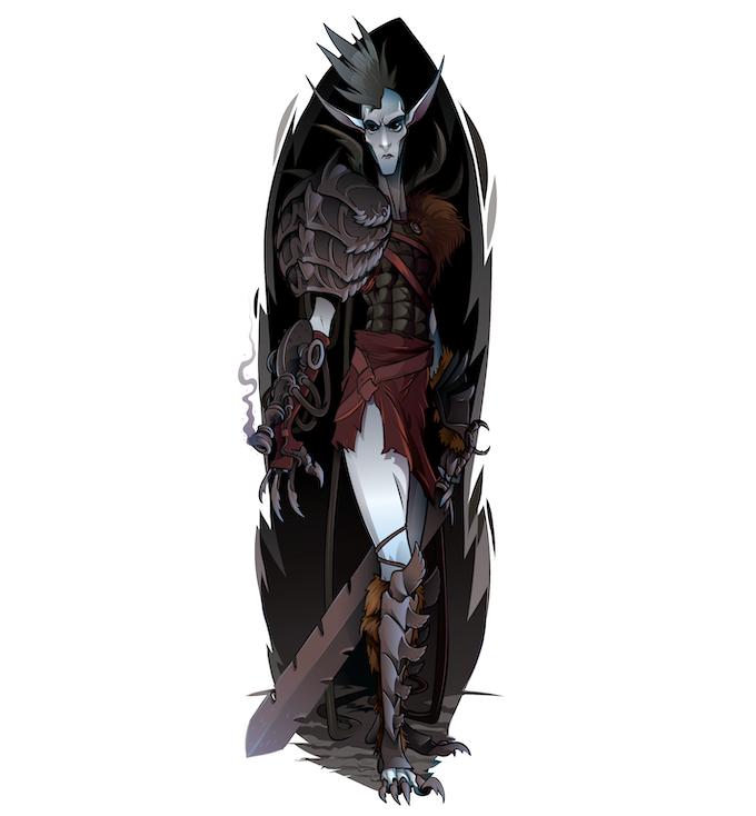 Child of the Dark warrior