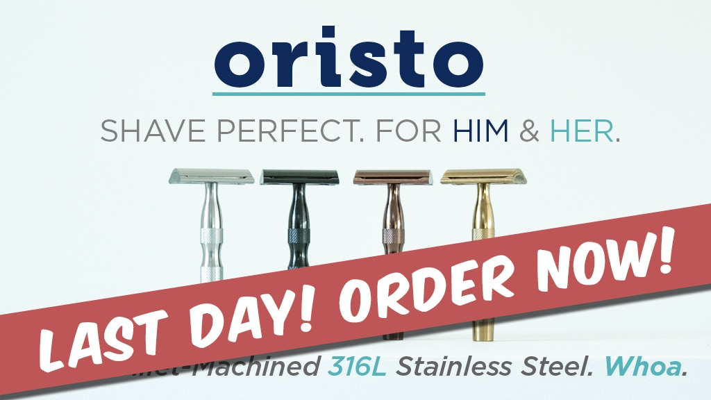 Oristo: Shave Perfect. For Him & Her project video thumbnail