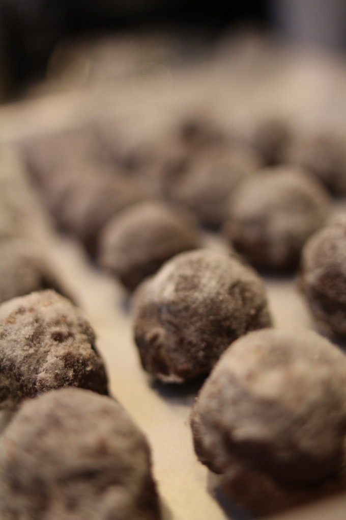 We also make single-origin truffles.