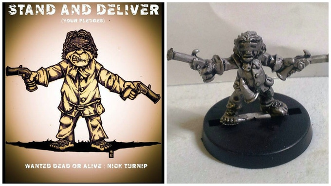 Nick Turnip - Halfling Bandit!