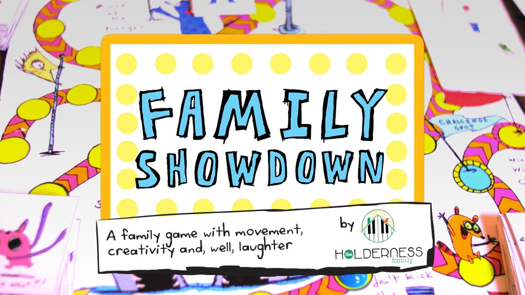 Family Showdown Board Game by the Holderness Family project video thumbnail