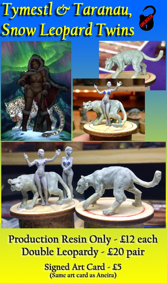 by guest sculptor, Fancagne Didier of Kaha Miniatures