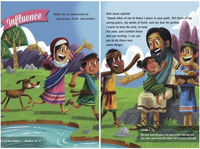 Children's Prayer Book For Latin America by Candy Marballi