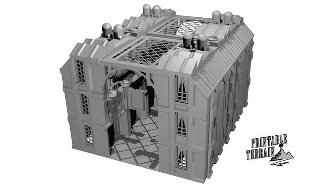 Resource image in free 3d printable terrain
