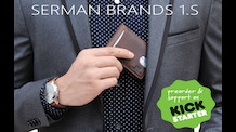 SERMAN BRANDS 1.S RFID Blocking Travel Wallet