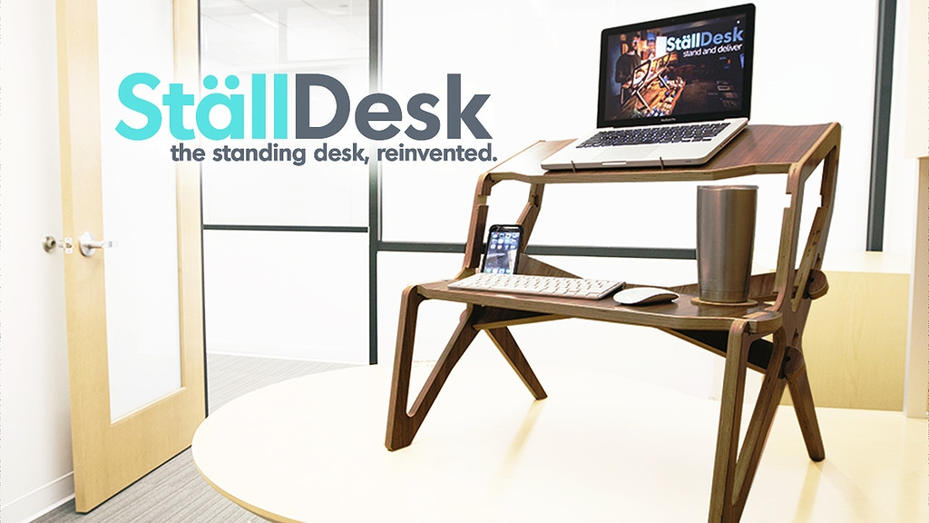 StällDesk - The Standing Desk, Reinvented. project video thumbnail