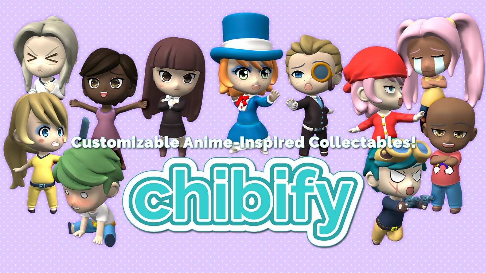 Chibify: Customized Anime Collectibles by Hero Forge