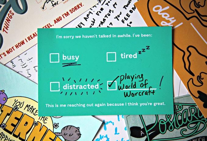 Design by Lauren Gallagher, lead designer at Cards Against Humanity
