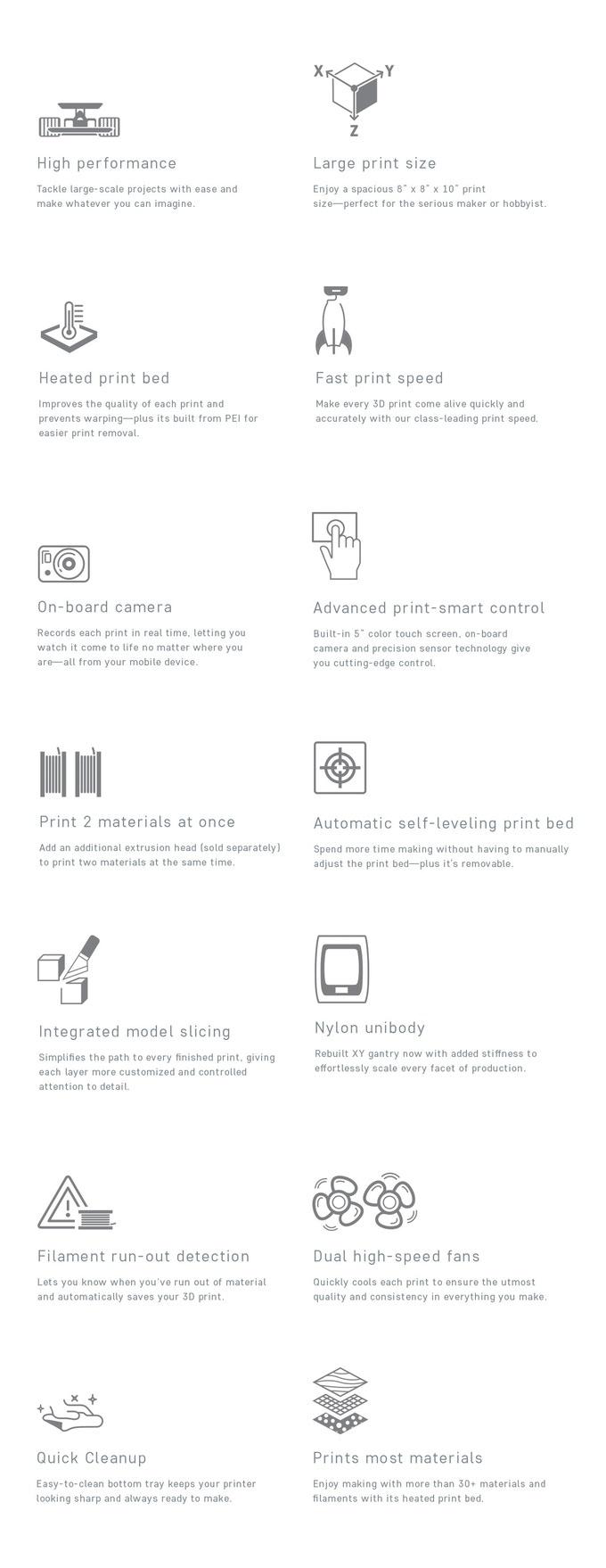 Robo C2 and Robo R2 Smart 3D Printers by Robo —Kickstarter