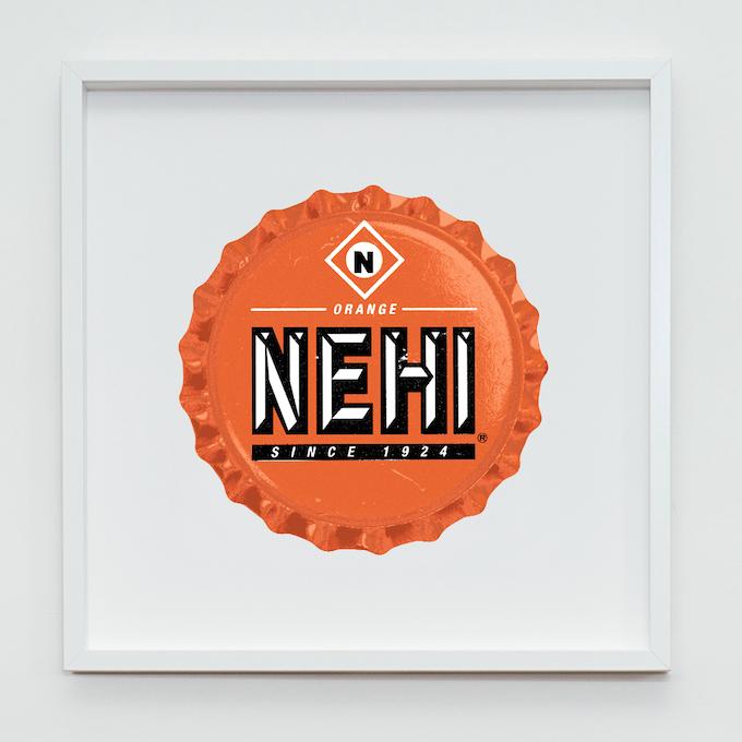 NEHI Fine Art Screenprint - Size: 500mm x 500mm