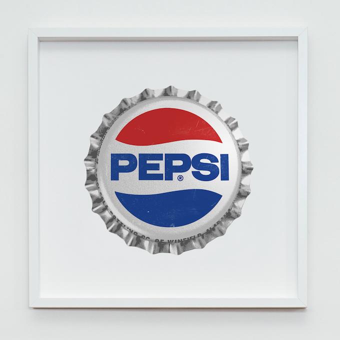 Pepsi Fine Art Screenprint - Size: 500mm x 500mm