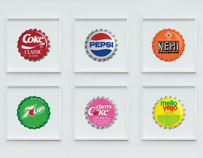The Collection of 500mm x 500mm Fine Art Screenprints