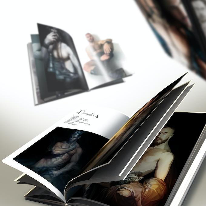Morphosis - Mockup design (Inside pages)