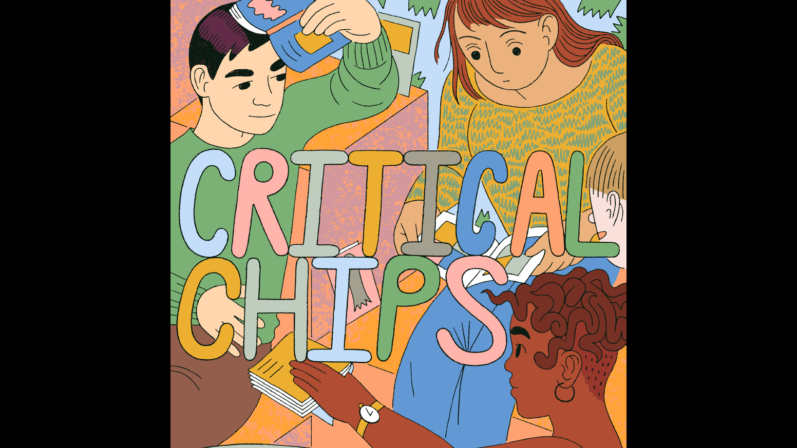 critical chips a contemporary comics essay zine by zainab akhtar critical chips a contemporary comics essay zine