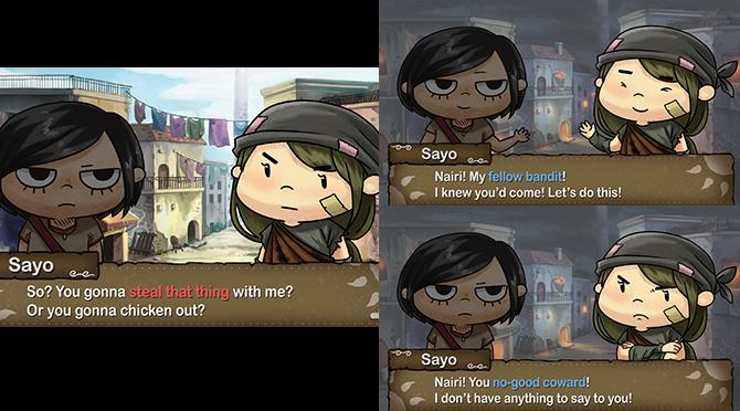Nairi makes a criminally difficult decision.