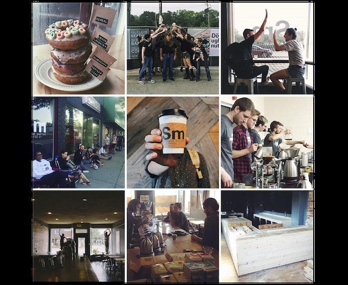 Original photos from @strangematterco Instagram. Photo credit: Debbie Carlos, Charlie Szur, Priscilla Perez