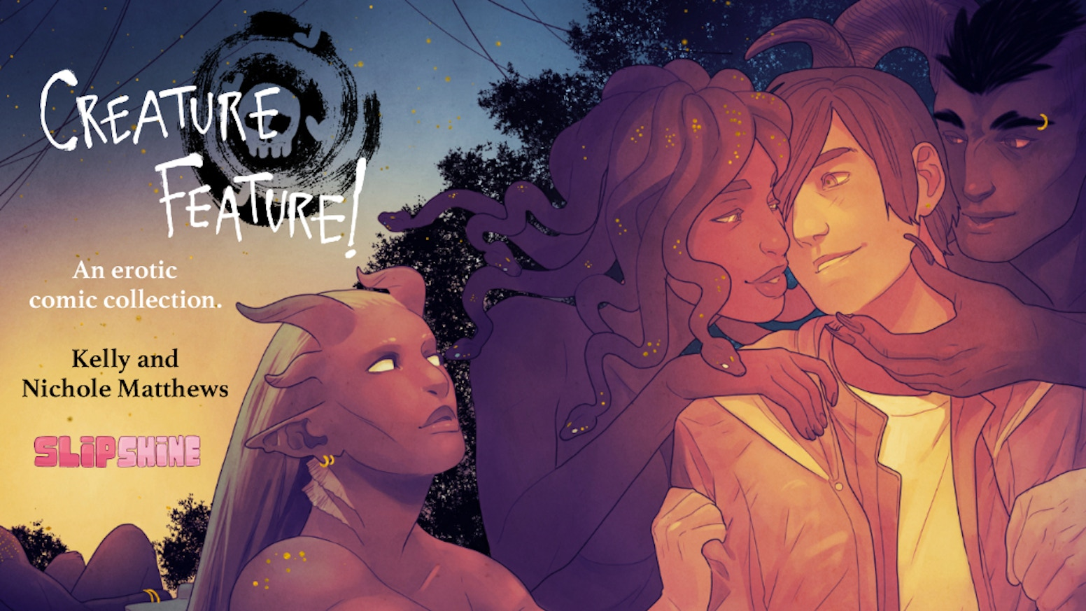 Creature Feature Vol 1 collects almost two years worth of erotic comics  written & drawn by