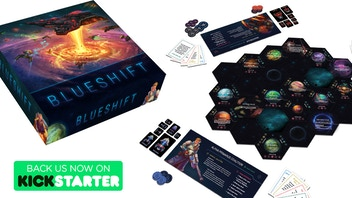 Blueshift: The Game of Galactic Conquest for 2-6 Players