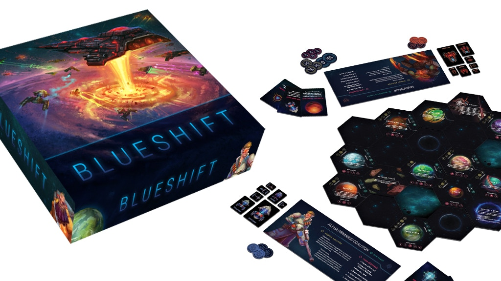 Blueshift: The Game of Galactic Conquest for 2-6 Players project video thumbnail