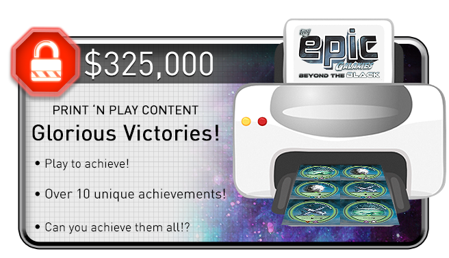 Upgrades the Premium Print 'N Play and will also be made public on BGG for all TEG players. This is a digital reward that will not be in the game box.