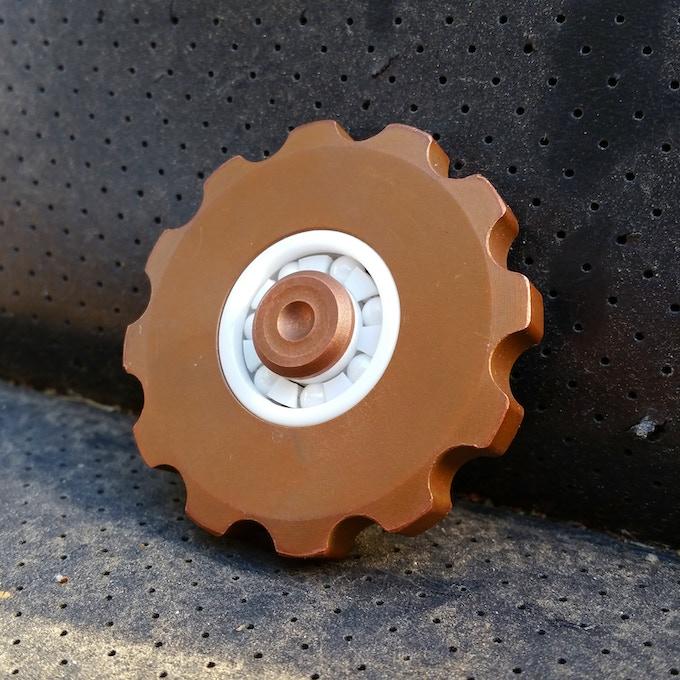 Early Cognito Prototype in Blasted Tellurium Copper
