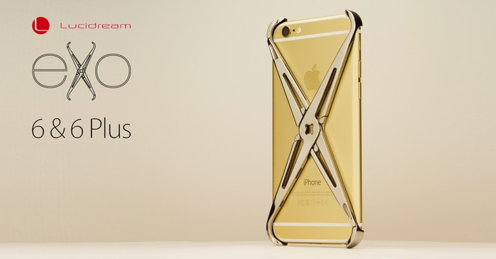 Premium Stainless Steel impact absorbing iPhone case, with an integrated accessories connection, enabling functional customization.