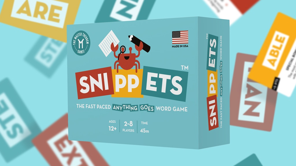 Snippets - The Fast Paced Anything Goes Word Game project video thumbnail