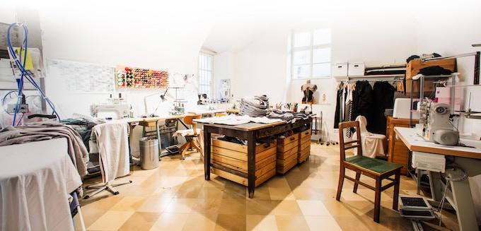 The tailor workshop