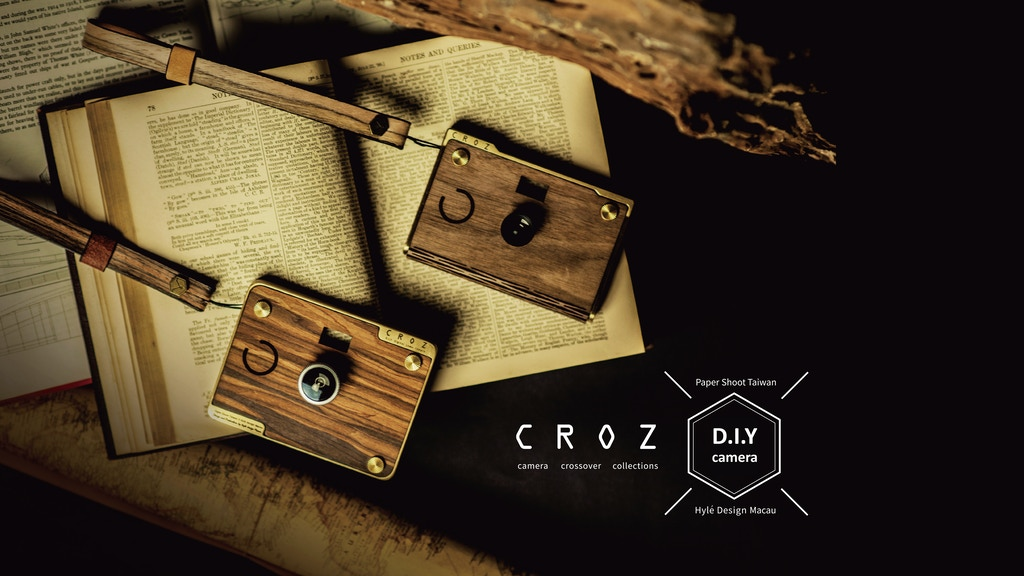 CROZ - D.I.Y Digital Camera project video thumbnail