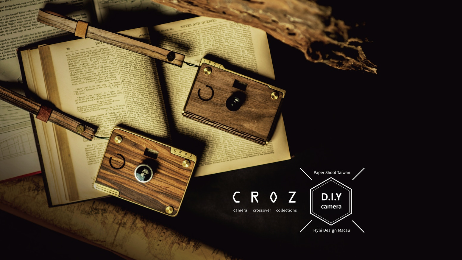 The idea of the CROZ is to combine users experience, the beauty and texture of the materials; CROZ is a meeting point of elegant design