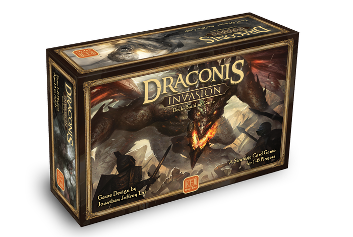 Battle the dark powers of Draconis in the ultimate medieval fantasy deck-building game. With over 500 beautifully illustrated cards.