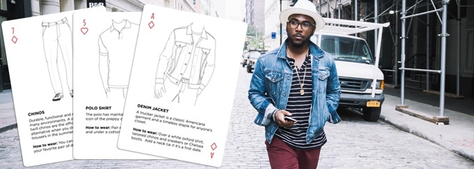 Use The Style Deck as visual inspiration when choosing what to wear