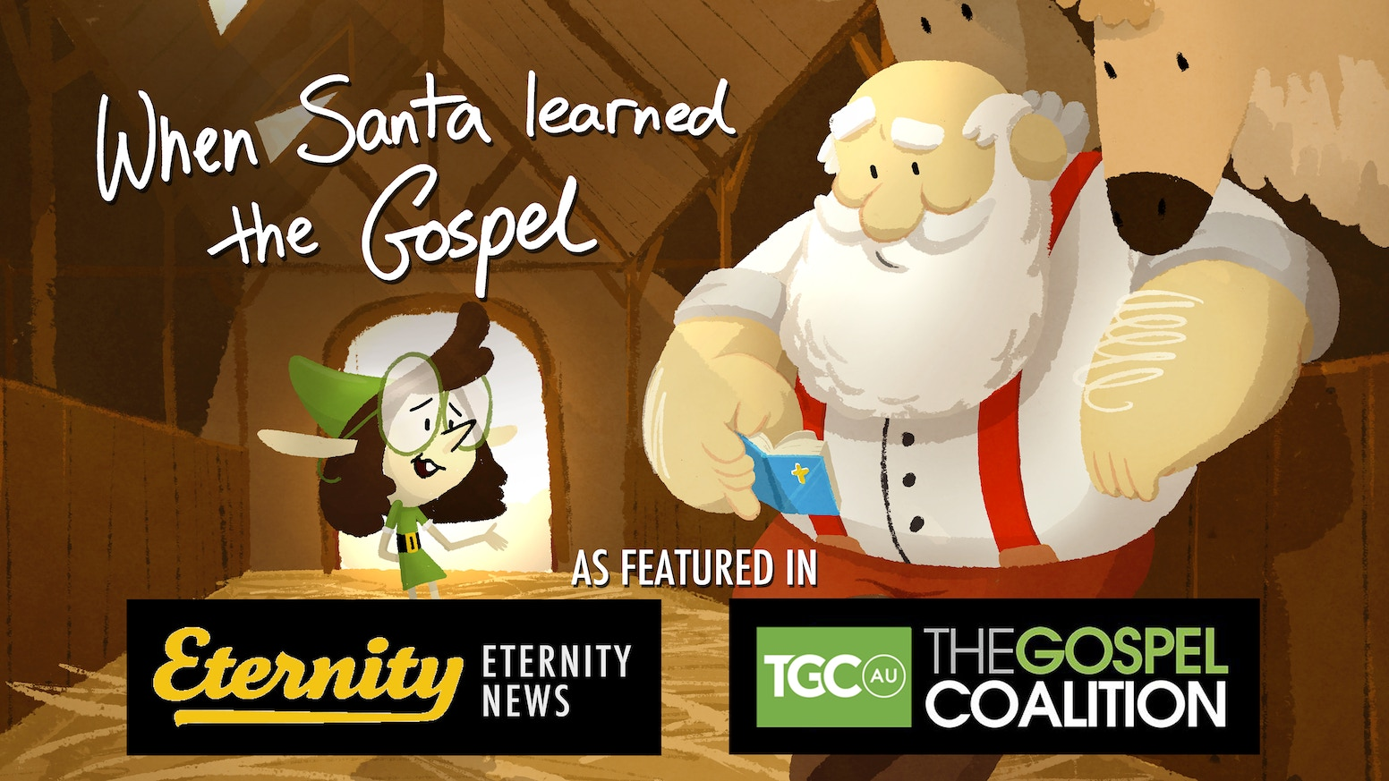 What would Jesus say to Santa? Find out in this beautifully illustrated Christmas book - helping kids and adults reflect on the gospel.