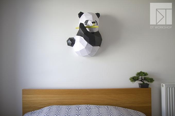 regular panda (64cm tall)