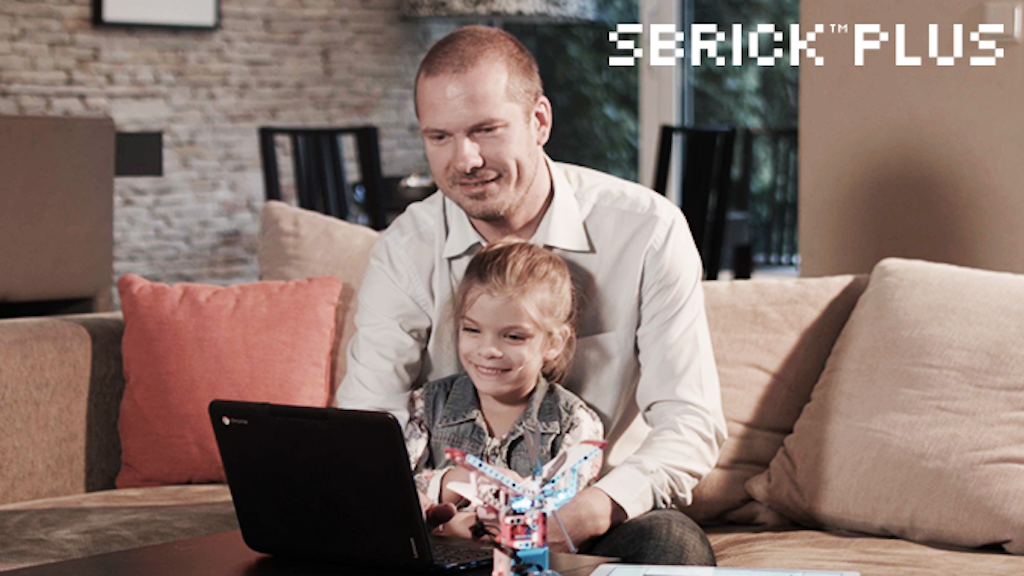 Connect. Code. Create. With SBrick Plus project video thumbnail
