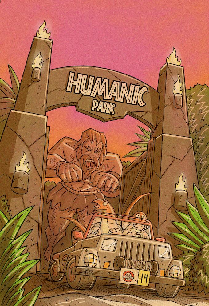 Kickstarter EXCLUSIVE Variant by Derik Diaz