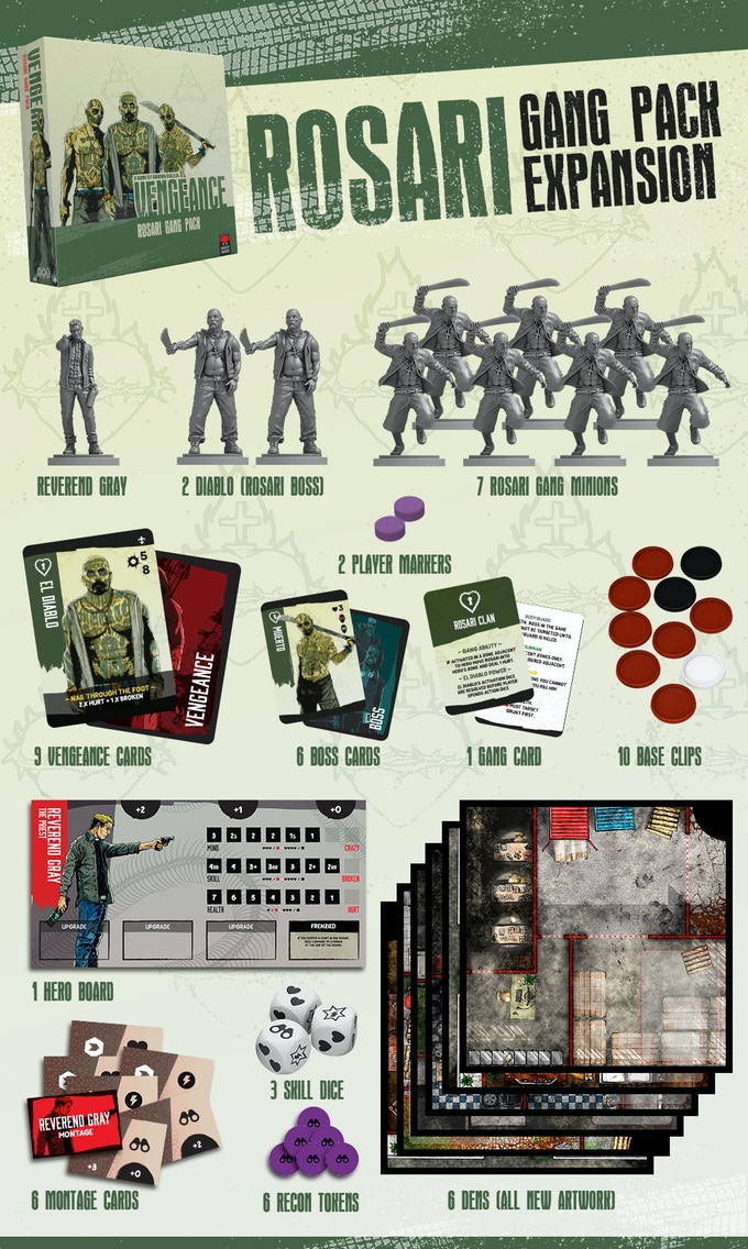 Vengeance by Mighty Boards — Kickstarter