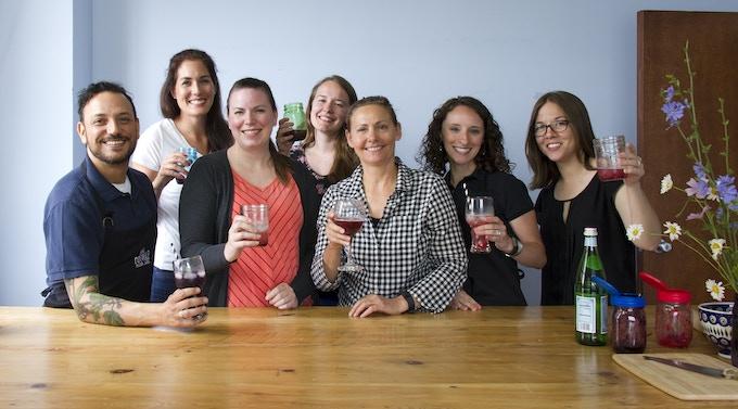 reCAP TEAM (L-R from back): Monica Zaczyk, Megan Steele, Carlo Fuda, Lisa Van Riper, Karen Rzepecki, Juliann Worden, Laura Bell
