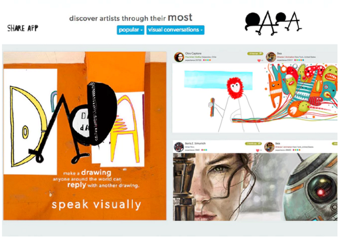 The Startup Mag: Art in the digital age: technology evokes conversations