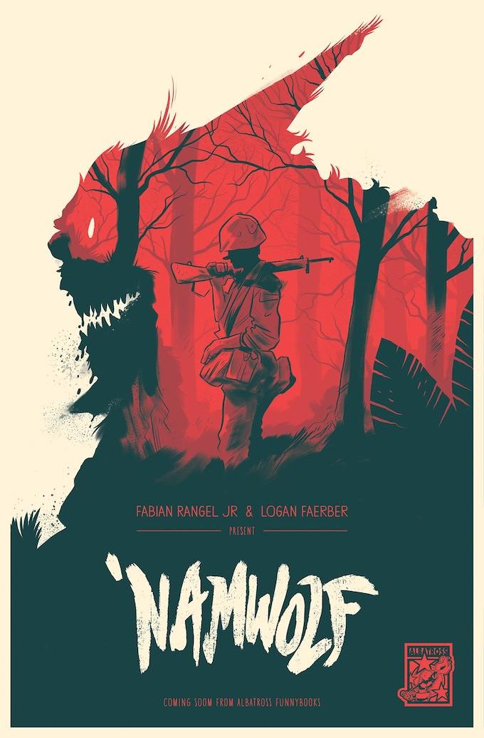 A 'NAMWOLF PRINT by Logan Faerber!