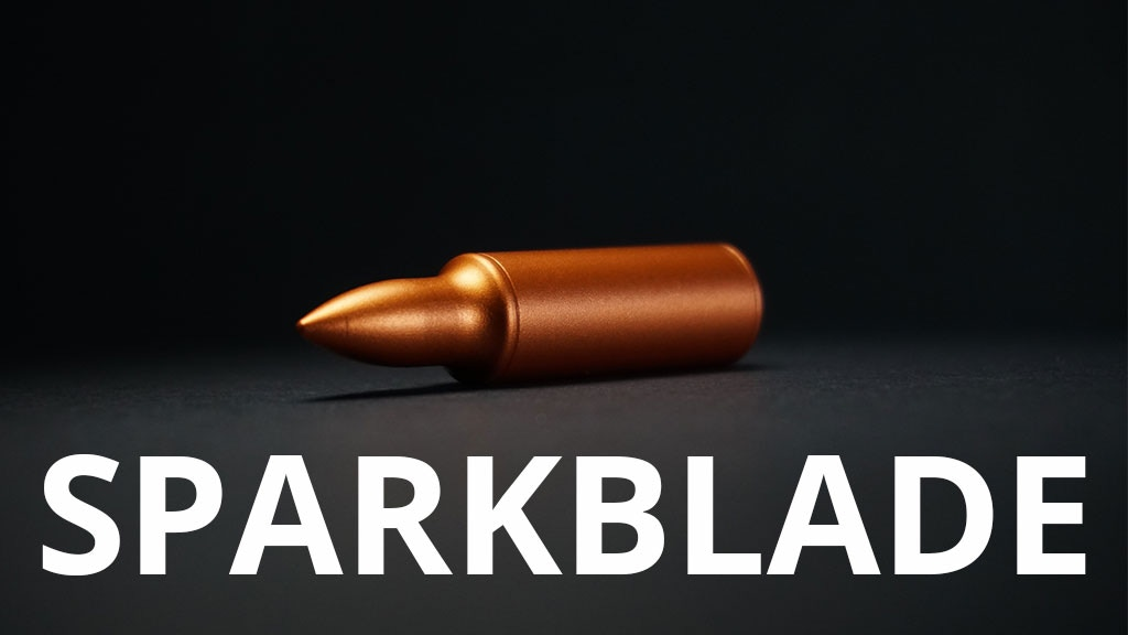 SparkBlade - A useful modern accessory project video thumbnail