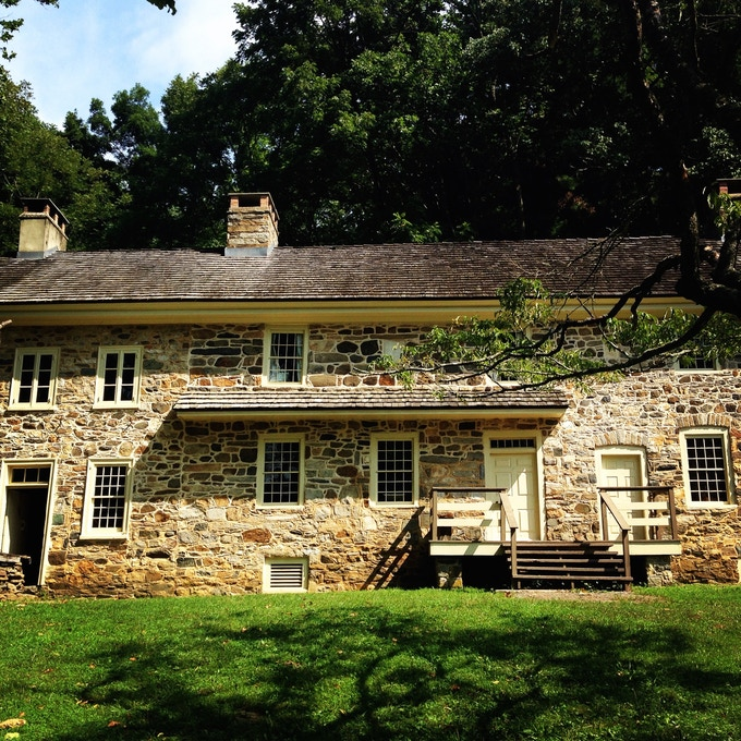 Colonial Pennsylvania Plantation